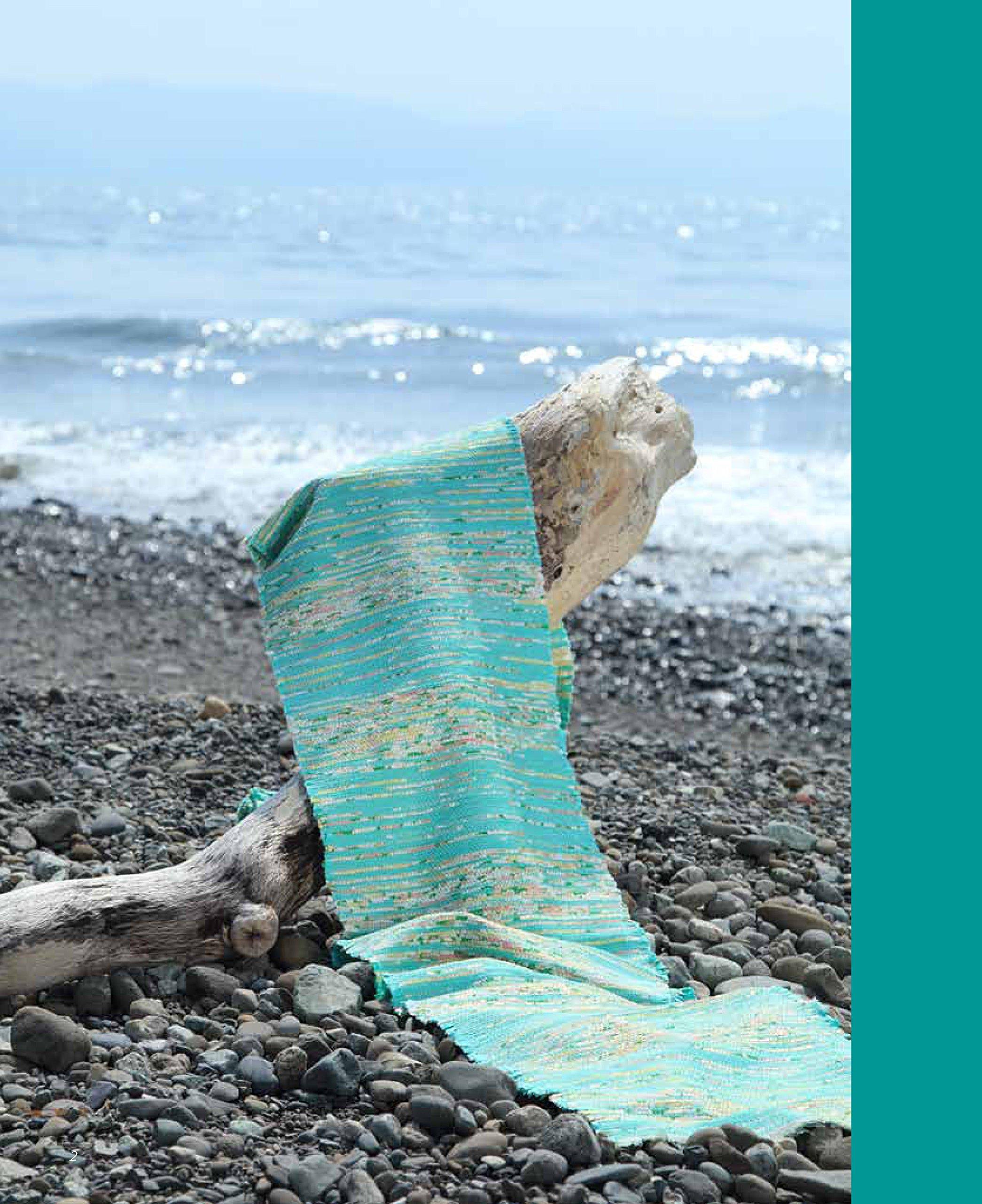 ハーフバイアス裂織~着物地の美しさを生かして~